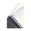 Kép 5/6 - Spirálfüzet LEITZ Office A/5 karton borítóval 90 lapos vonalas zöld