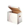 Kép 2/2 - Archiváló konténer ESSELTE Standard karton felfelé nyíló fehér 398x302x280mm