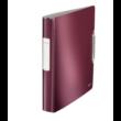 Kép 2/2 - Gyűrűskönyv LEITZ Active Style A/4 30mm 4 gyűrű softclick gránátvörös