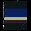 Kép 1/3 - Spirálfüzet LEITZ Executive A/4 PP 80 lapos kockás