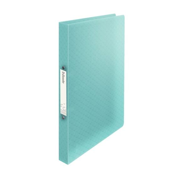 Gyűrűskönyv ESSELTE Colour`Ice A/4 PP 2R 25mm kék