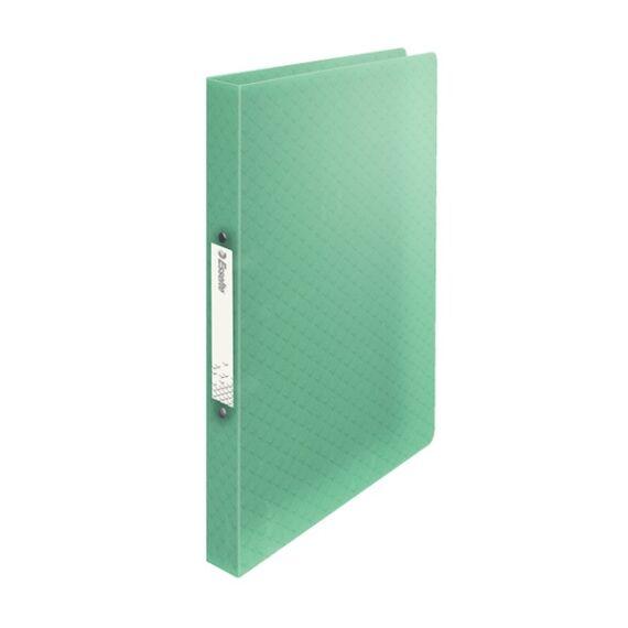 Gyűrűskönyv ESSELTE Colour`Ice A/4 PP 2R 25mm zöld