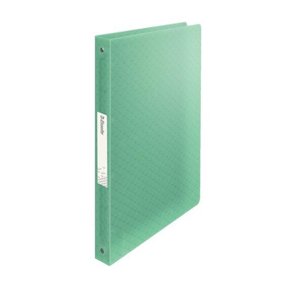 Gyűrűskönyv ESSELTE Colour`Ice A/4 PP 4R 25mm zöld