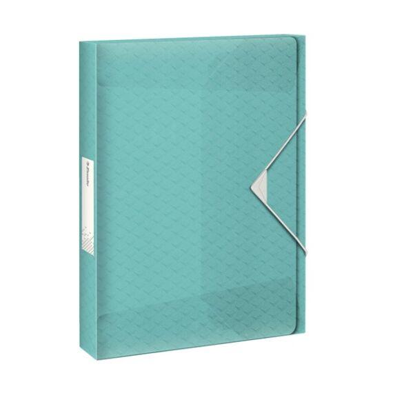Gumis mappa ESSELTE Colour`Ice Jumbo Plus A/4 40mm PP kék