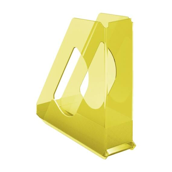 Irattartó papucs ESSELTE Colour`Ice 68mm műanyag áttetsző sárga
