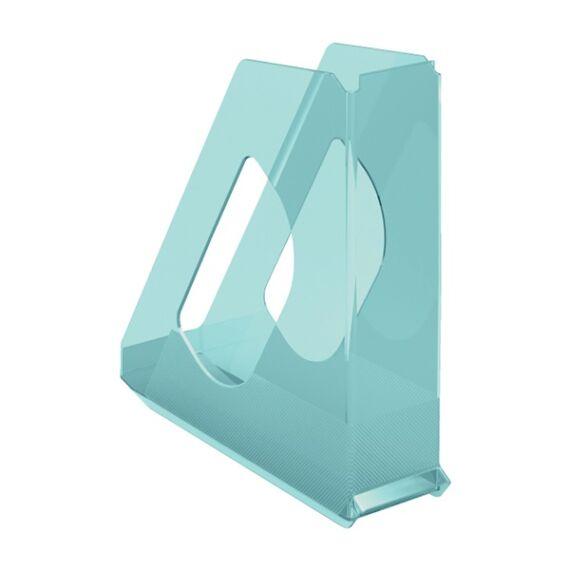 Irattartó papucs ESSELTE Colour`Ice 68mm műanyag áttetsző kék