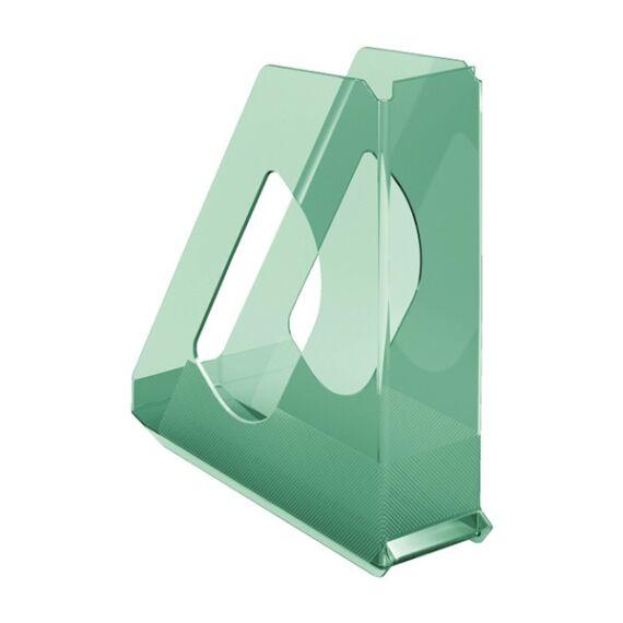 Irattartó papucs ESSELTE Colour`Ice 68mm műanyag áttetsző zöld