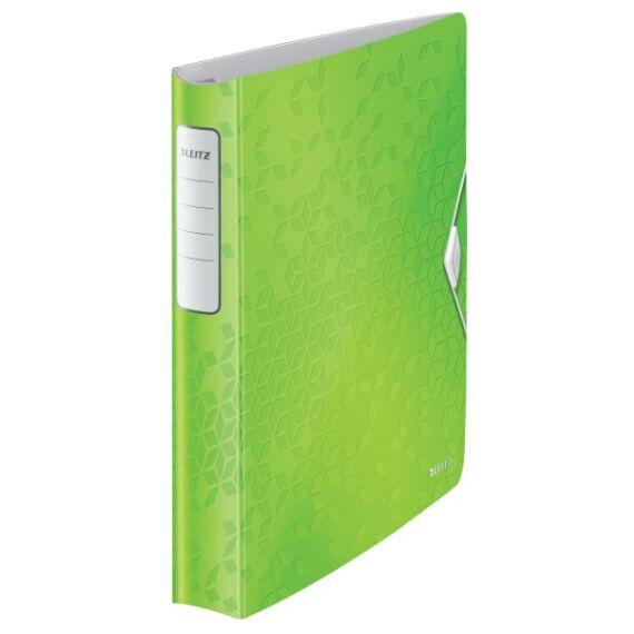 Gyűrűskönyv LEITZ Active Wow A/4 52mm 4 gyűrű zöld