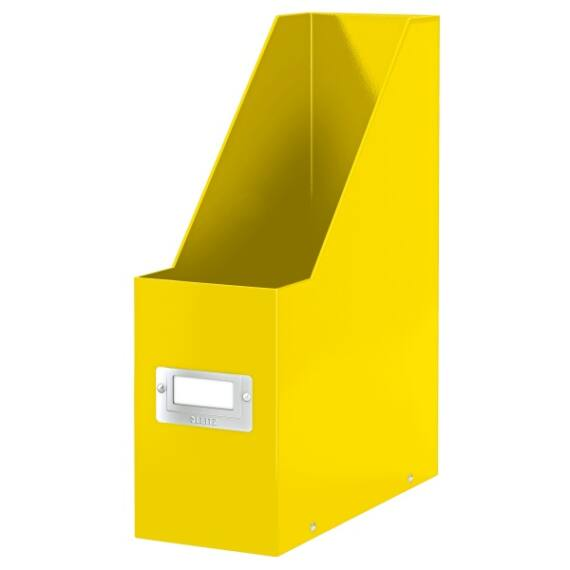 Irattartó papucs LEITZ Click&Store sárga