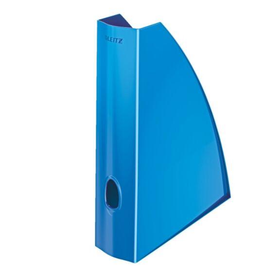 Irattartó papucs LEITZ Wow metálfényű kék