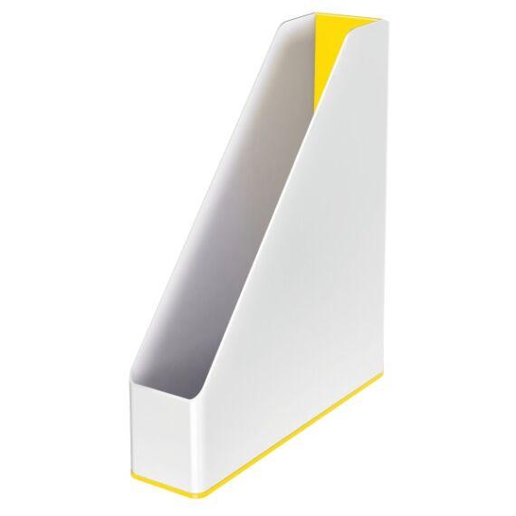 Irattartó papucs LEITZ Wow fehér/sárga