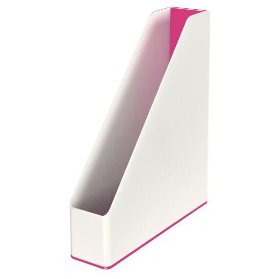 Irattartó papucs LEITZ Wow fehér/rózsaszín