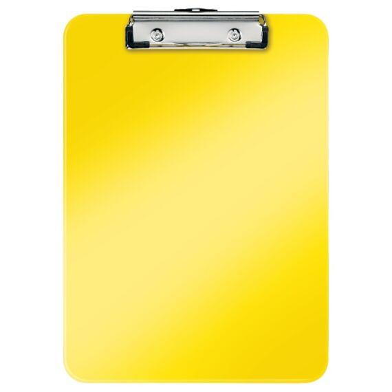 Felírótábla LEITZ Wow A/4 kemény műanyag sárga