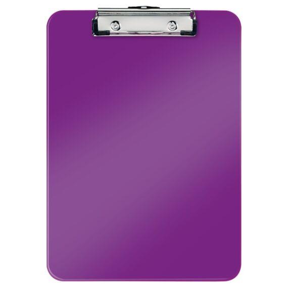 Felírótábla LEITZ Wow A/4 kemény műanyag lila