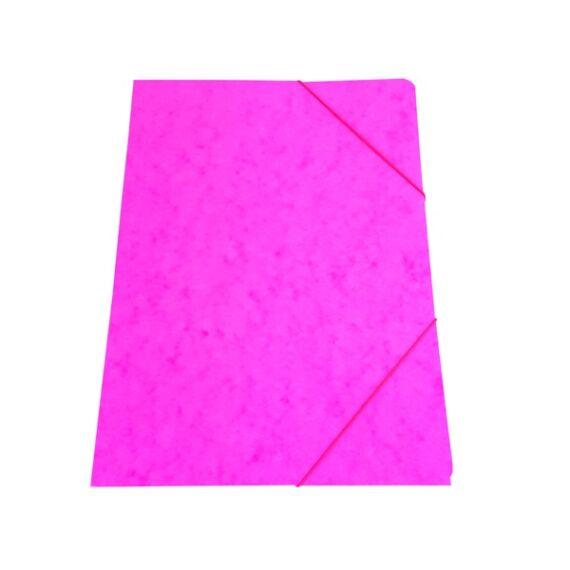 Gumis mappa prespán pink 345gr