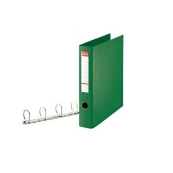 Gyűrűskönyv ESSELTE Jumbo Vivida 58mm 4 gyűrű zöld
