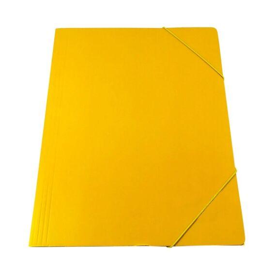 Gumis mappa CLARISSA A/4 papír 320 gr sárga