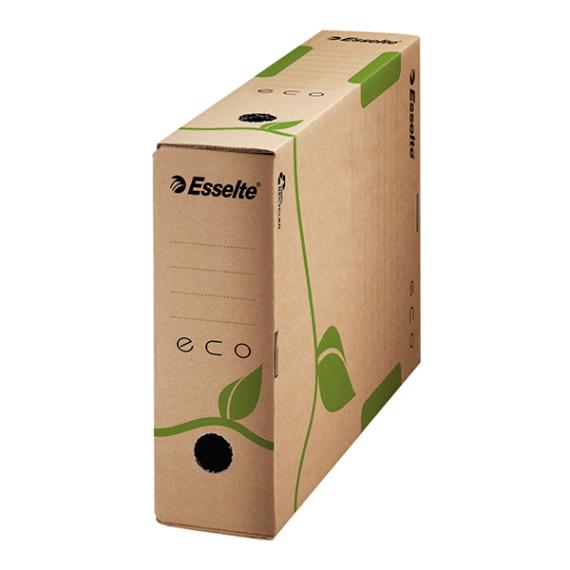 Archiváló doboz ESSELTE Eco A/4 80mm barna