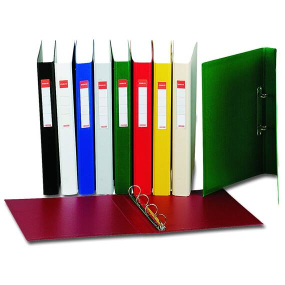 Gyűrűskönyv ESSELTE Standard Vivida 35mm 4 gyűrű piros