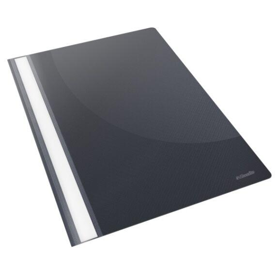 Gyorsfűző ESSELTE Standard Vivida műanyag fekete