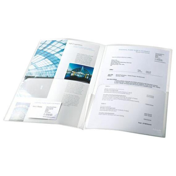 Genotherm ESSELTE kihajtható víztiszta 180 mikron 5 db/csomag