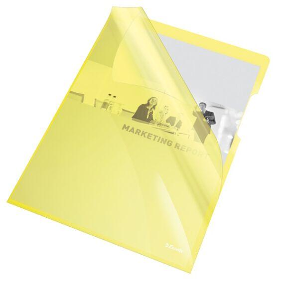 Genotherm ESSELTE luxus víztiszta A/4 sárga 150mikron 25 db/csomag