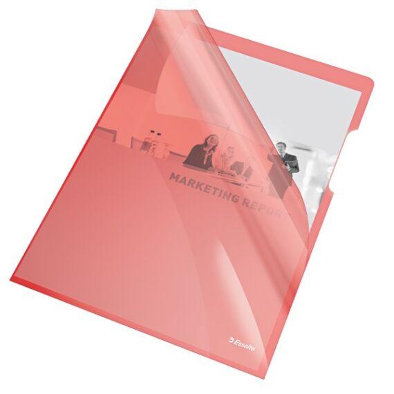 Genotherm ESSELTE luxus víztiszta A/4 piros 150 mikron 25 db/csomag