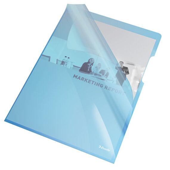 Genotherm ESSELTE luxus víztiszta A/4 kék 150 mikron 25 db/csomag