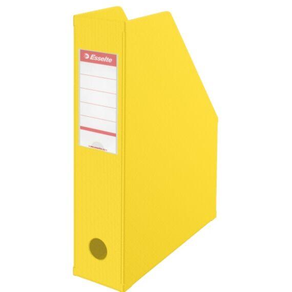 Irattartó papucs ESSELTE összehajtható 70 mm sárga