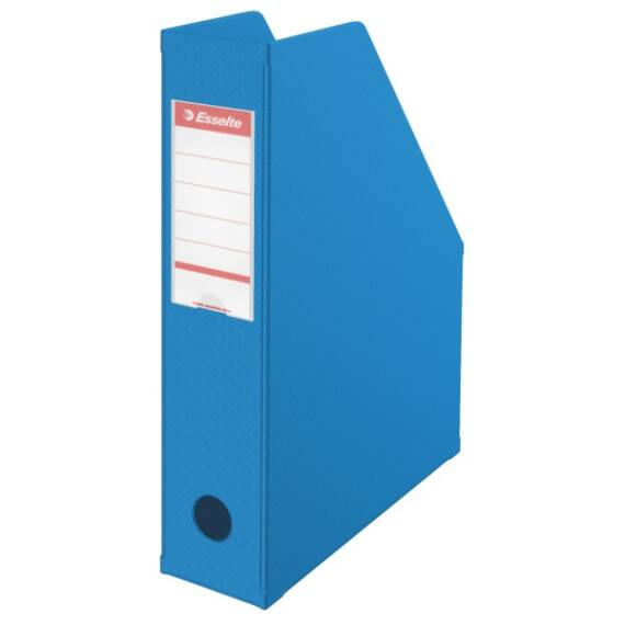 Irattartó papucs ESSELTE összehajtható 70 mm kék