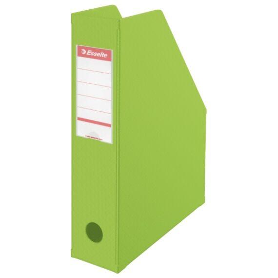 Irattartó papucs ESSELTE összehajtható 70 mm zöld