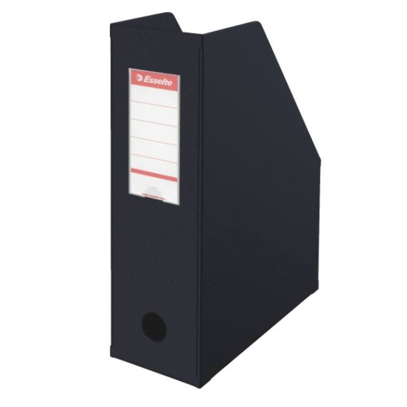 Irattartó papucs ESSELTE összehajtható 100 mm fekete