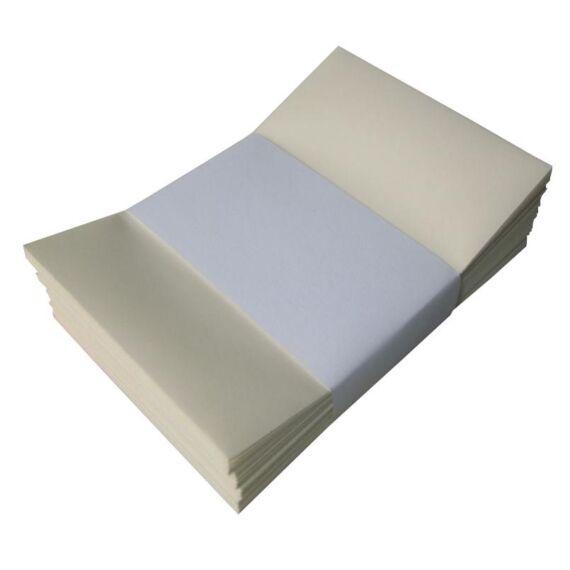 Névjegyboríték színes KASKAD enyvezett 70x105mm 12 vanilia 50 db/csomag