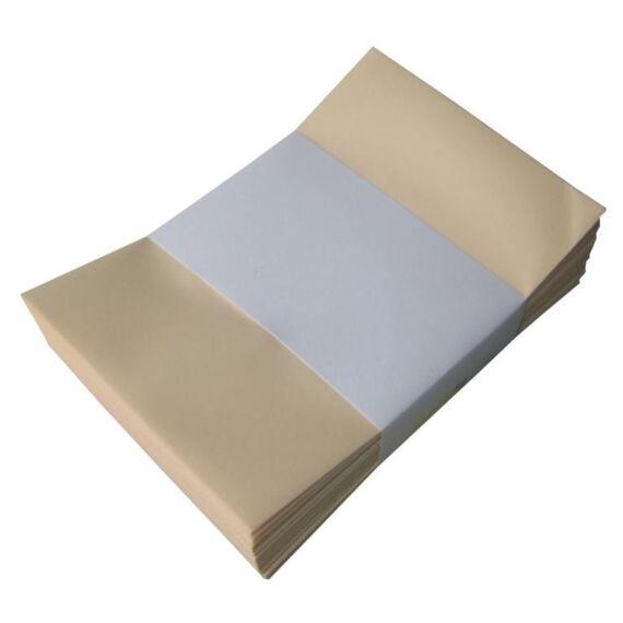 Névjegyboríték színes KASKAD enyvezett 70x105mm 13 krém 50 db/csomag
