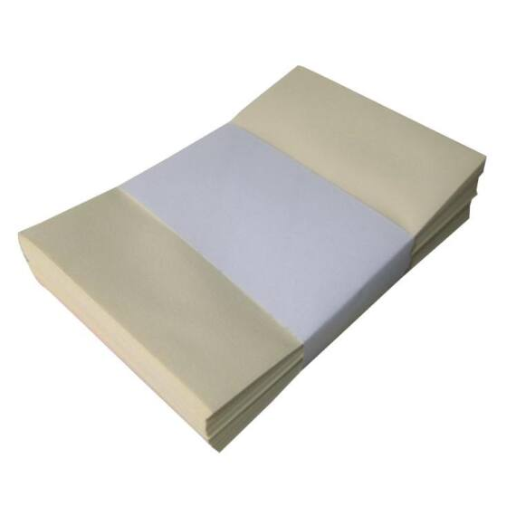 Névjegyboríték színes KASKAD enyvezett 70x105mm 53 világos sárga50 db/csomag