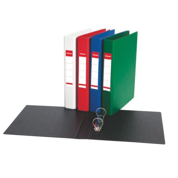 Gyűrűskönyv ESSELTE Standard Vivida A/5 25mm 2 gyűrű fekete