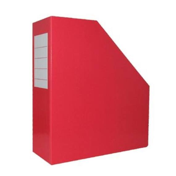 Irattartó papucs fóliás piros