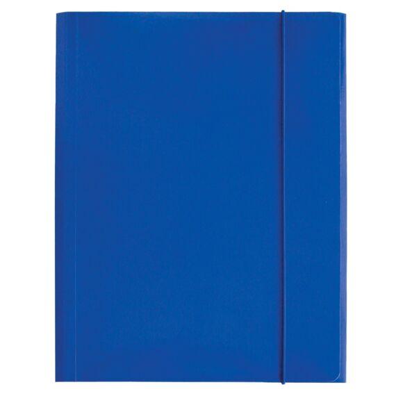 Gumis mappa OPTIMA A/4 kék 600gr