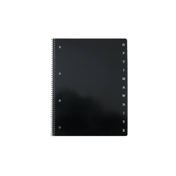 Spirálfüzet OPTIMA A/4 80 lapos perforált lyukasztott vonalas