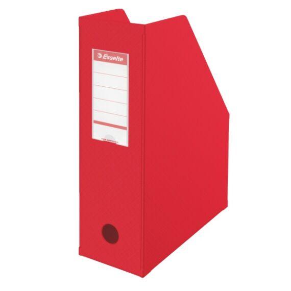 Irattartó papucs ESSELTE összehajtható 100 mm piros