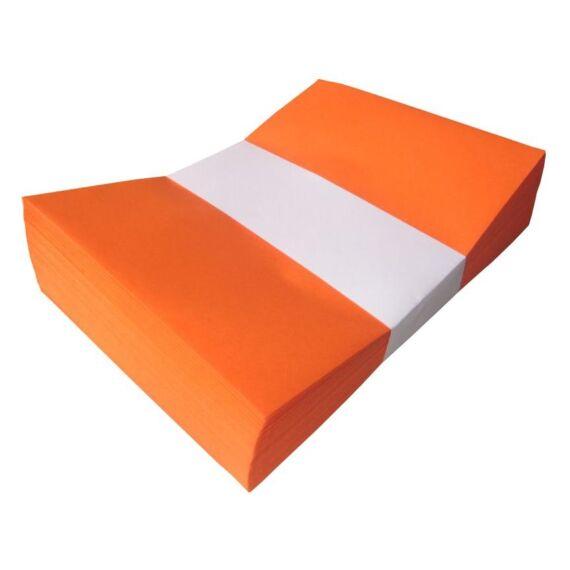 Boríték színes KASKAD LC/5 enyvezett 162x229mm 48 narancs 25 db/csomag