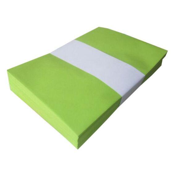 Boríték színes KASKAD LC/5 enyvezett 162x229mm 66 lime zöld 25 db/csomag