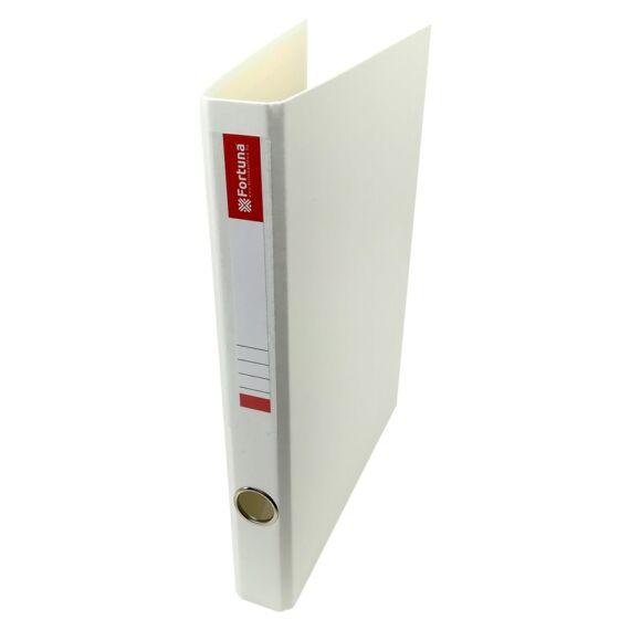 Gyűrűskönyv FORTUNA A/4 35mm 2 gyűrű fehér
