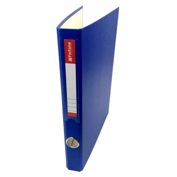 Gyűrűskönyv FORTUNA A/4 35mm 4 gyűrű kék
