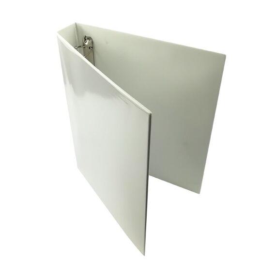 Gyűrűskönyv panorámás 50mm 4 gyűrű fehér