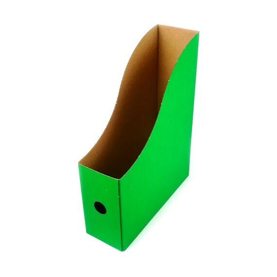 Irattartó papucs FORTUNA papír zöld