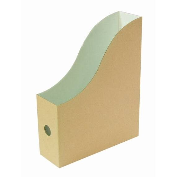 Irattartó papucs FORTUNA papír natúr