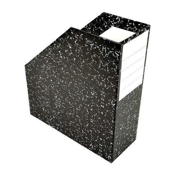 Irattartó papucs FORTUNA Fantasy márvány mintás fekete
