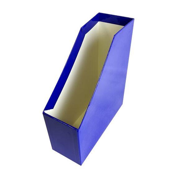 Irattartó papucs FORTUNA Elegant fóliás kék