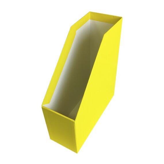Irattartó papucs FORTUNA Elegant fóliás sárga